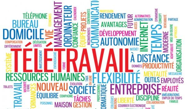 """Nuage de Tags """"TELETRAVAIL"""" (tltravail  domicile management)"""