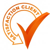 satisfaction client sur symbole valid orange