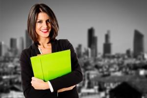 real estate female agent